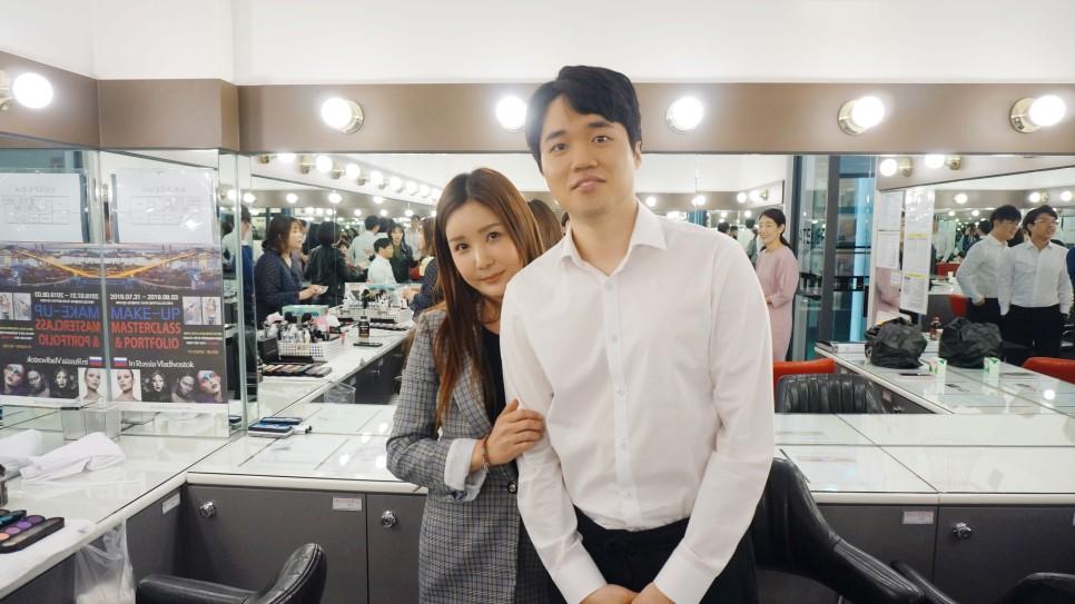 남자 졸업사진 메이크업&헤어스타일링♥