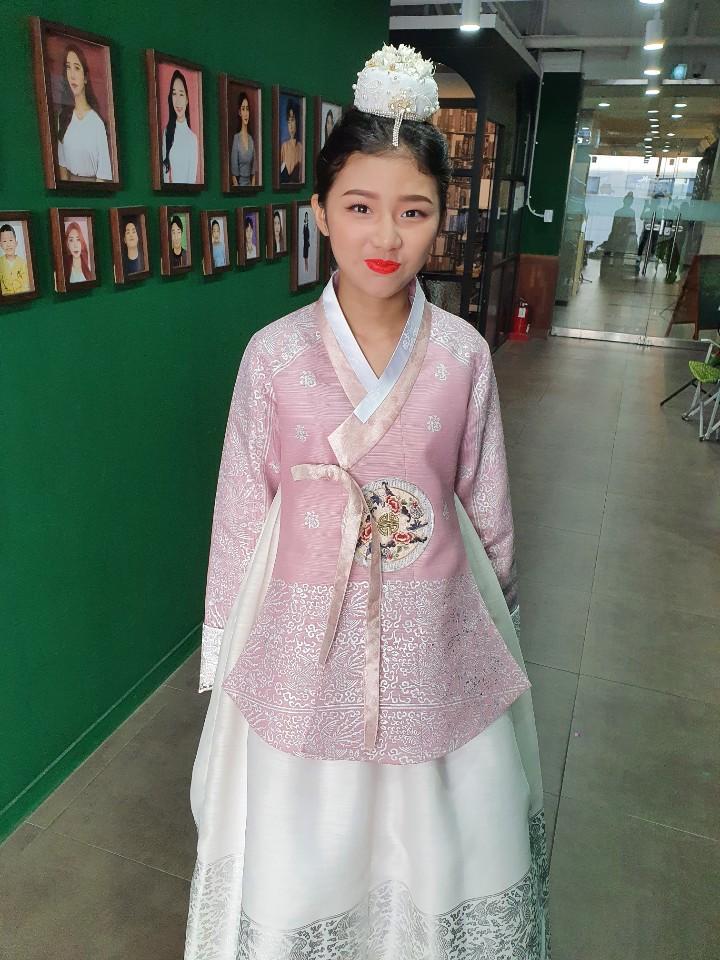 김♡은 학생의 한복 메이크업 공모전 참가 작품