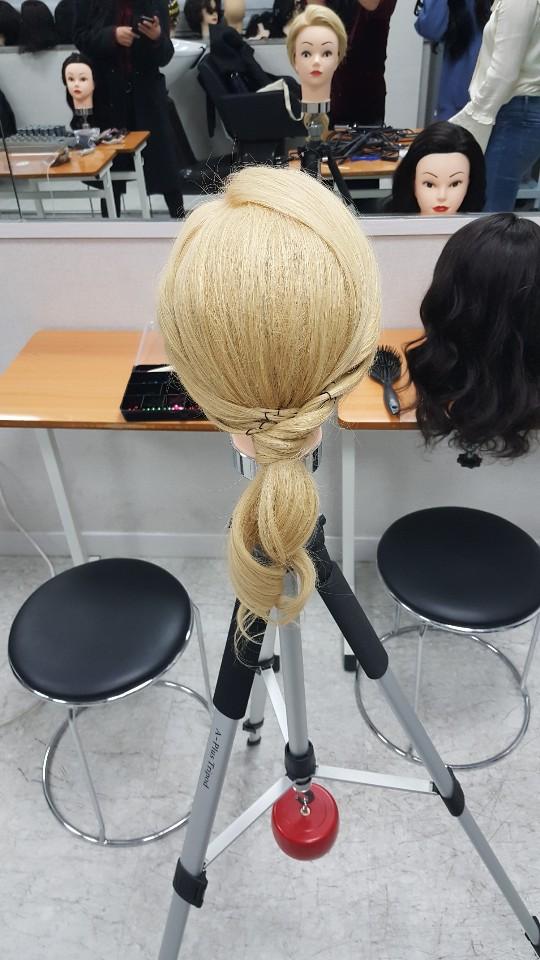 즐거운 포니테일 업스타일 수업♡