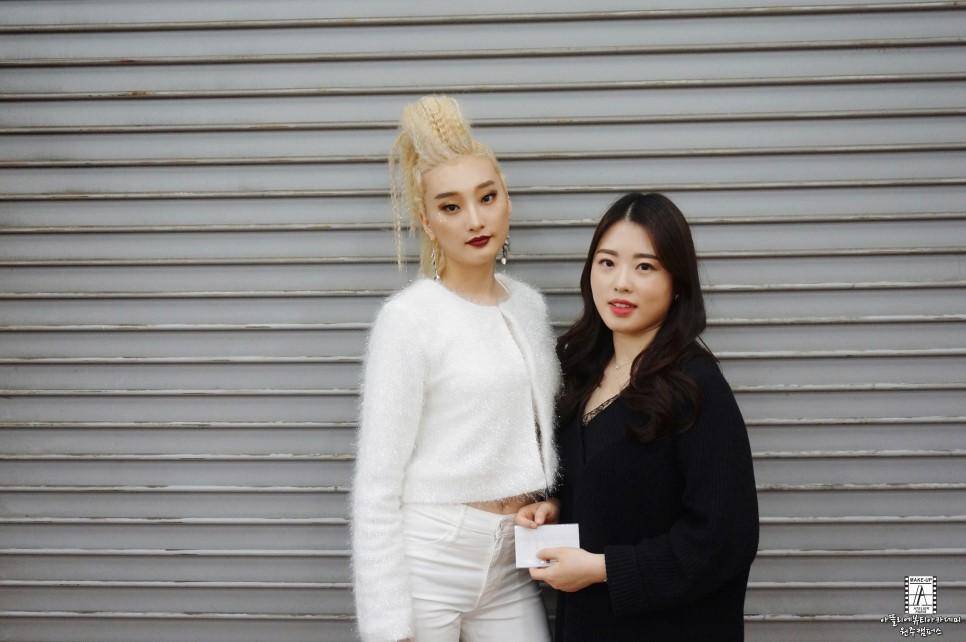 원주미용학원 2018 라빠 브랜뉴데이 현장실습-진보♡ 학생